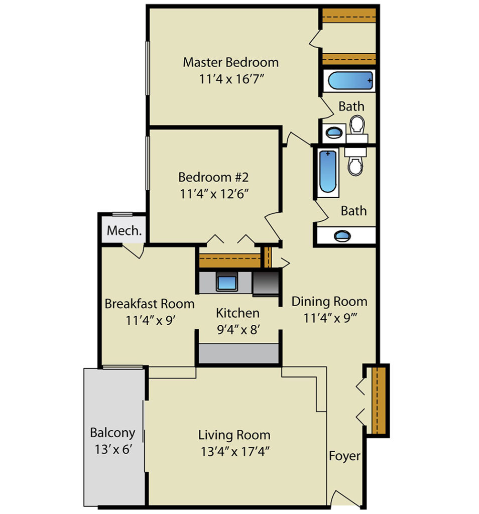 2 Bedroom Apartments In Md: Strathmore House Apartments In Silver Spring, MD
